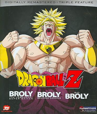 DRAGON BALL Z:BROLY TRIPLE FEATURE (M BY DRAGON BALL Z (Blu-Ray)